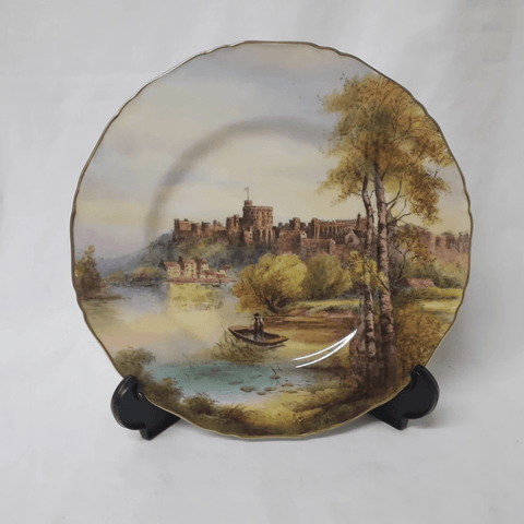 Hand-painted signed R.Rushton