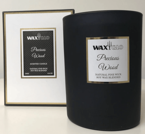 """Precious Wood"" Scented candle"