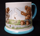 Royal Albert Nursery cup 'Fishing' teddy's playtime