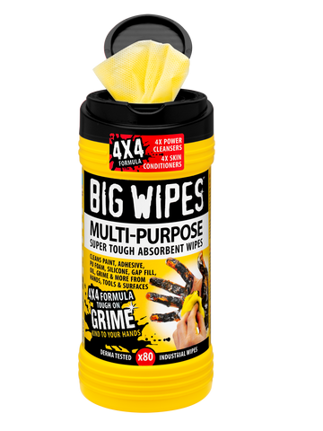 Multi-Purpose Big Wipes in 80 count canister