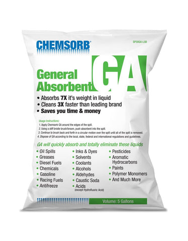 CHEMSORB¨ GA - GENERAL ABSORBENT - 5 Gallon Bag