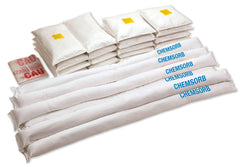 "CHEMSORB¨ BULK VARIETY PACK - 4 Pillows - 17.5""x17.5"", 10 Pillows - 10""x10"", 16 Tubes - 3.5""x48"""