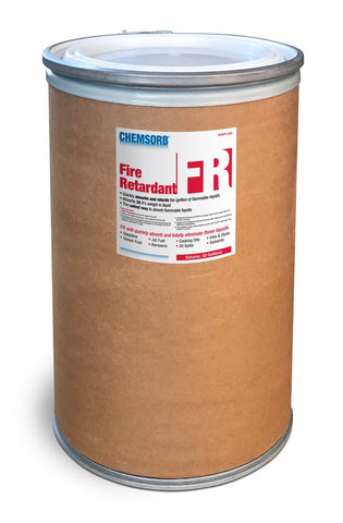 CHEMSORB¨ FR - FLAMMABLE LIQUID RETARDANT ABSORBENT- 30 Gallon Fiber Dum