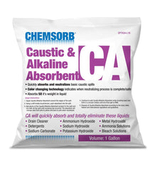 CHEMSORB¨ CA - CAUSTIC & ALKALINE NEUTRALIZING ABSORBENT - 1 Gallon Bag