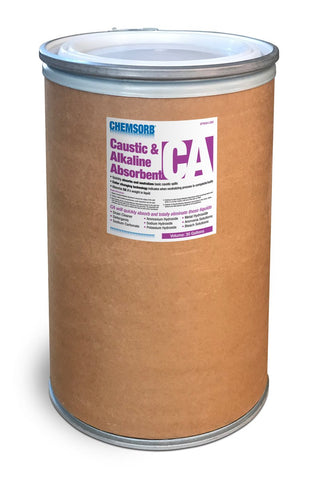 CHEMSORB¨ CA - CAUSTIC & ALKALINE NEUTRALIZING ABSORBENT - 30 Gallon Fiber Drum