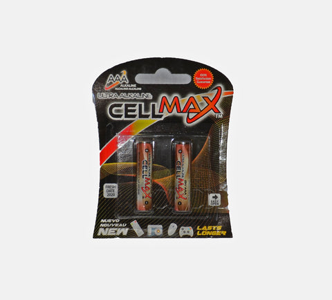 Battery, CELL MAX AAA Alkaline