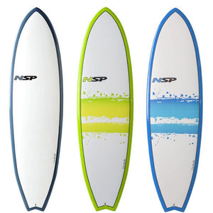 ALL NEW NSP SURFBOARDS!