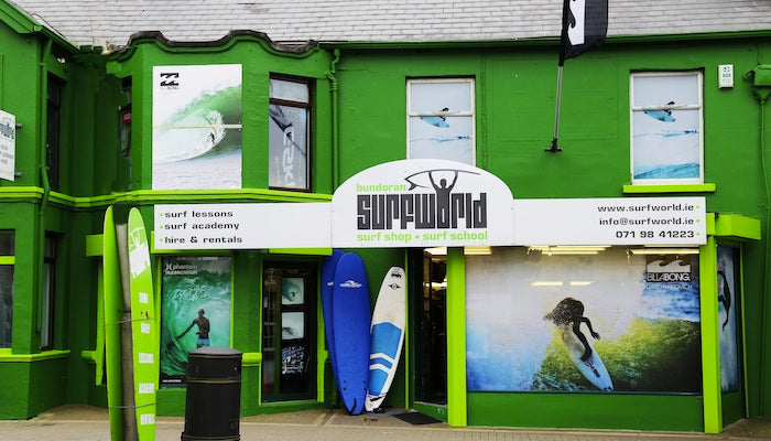 Surfworld Surf Shop Bundoran