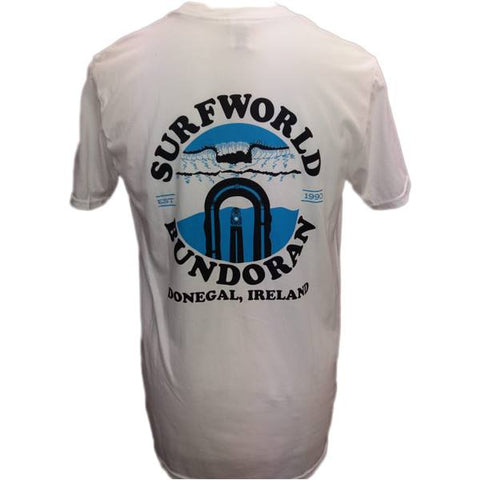 Surfworld Peak T-Shirt (GD01) - WHITE