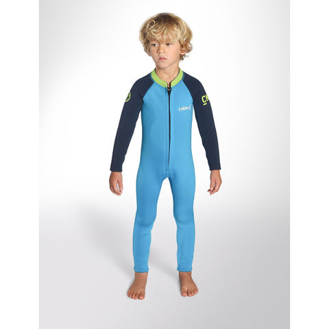 C-Skins Baby Steamer Wetsuit 2018 (C-BA32ST) - CYAN/NAVY/LIME