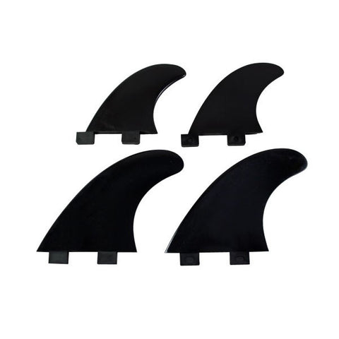Replacement Quad Fins (Black)