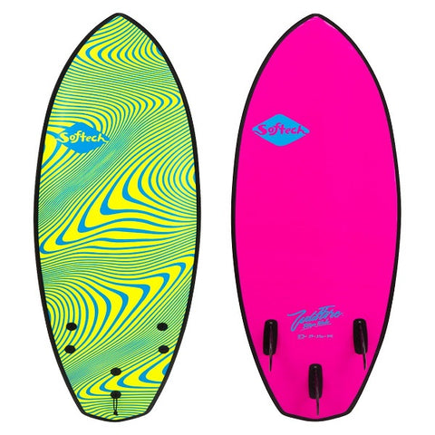 Softech 5'11 Toledo Wildfire performance surfboard (Neon)