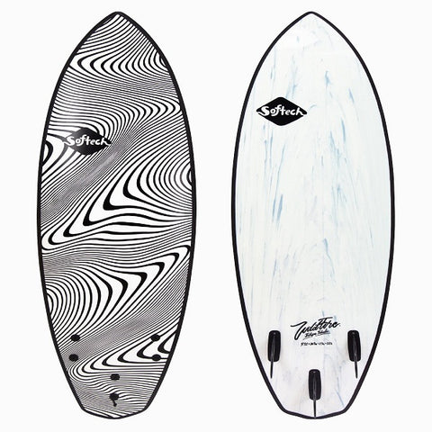 Softech 5'11 Toledo Wildfire performance surfboard (Granite)