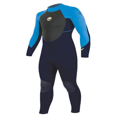 Alder Stealth Junior 5/4/3mm Back Zip Wetsuit 2020/21 (WW18JSTF) -  BLUE