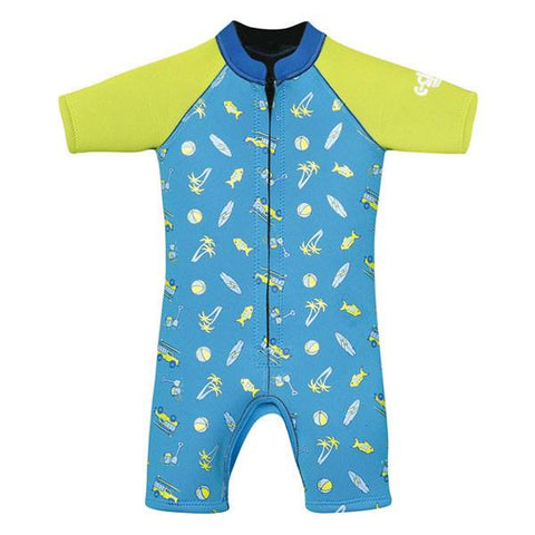 C-Skins Baby Shorty Wetsuit 2015 - BLUE/GREEN