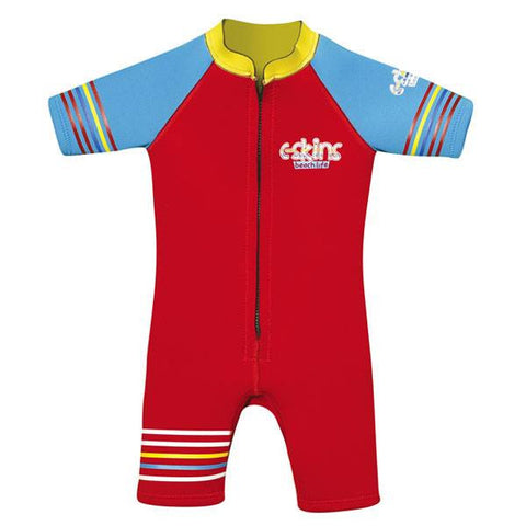 C-Skins Baby Shorty Wetsuit 2015 - RED/BLUE