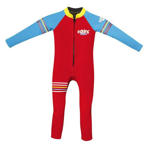 C-Skins Baby Steamer Wetsuit 2015 - RED/BLUE