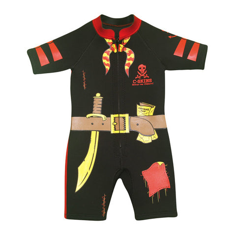 C-Skins Baby Shorty Wetsuit 2015 - PIRATE