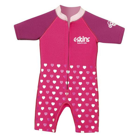 C-Skins Baby Shorty Wetsuit 2015 - PINK (HEARTS)