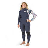 Rip Curl G-Bomb Ladies 5/3mm Zip-Free Wetsuit 2019 (WSM8JG) - NAVY