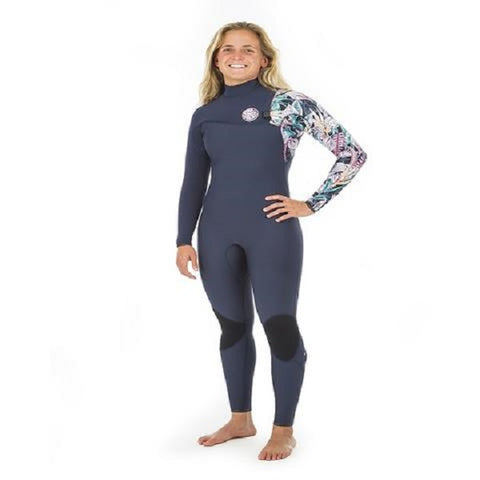 Rip Curl G-Bomb Ladies 5/3mm Zip-Free Wetsuit 2020 (WSM8JG) - NAVY