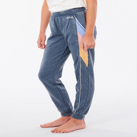 Ladies Rip Curl Golden State Track Pants - Navy