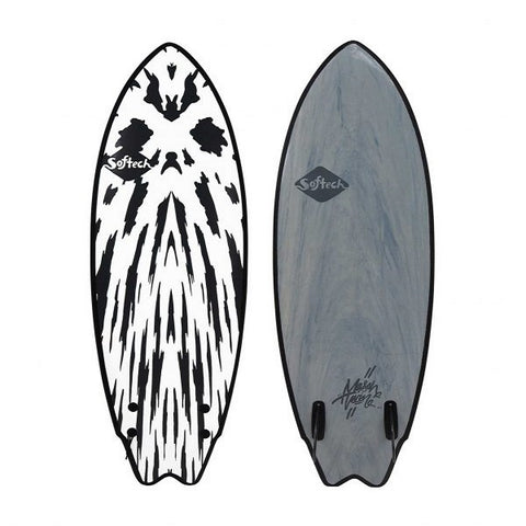 Softech 5'10 Mason Twin Performance Softboard (Gunmetal Black)