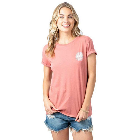 Rip Curl Aloha Experience Canyon Short Sleeve womens T-Shirt