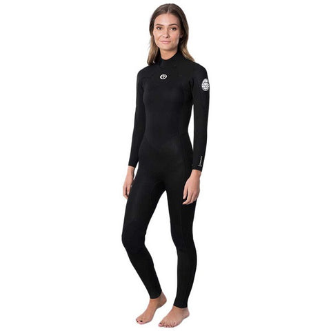 Rip Curl Freelite Ladies 5/3mm Back Zip Wetsuit 2021 - BLACK