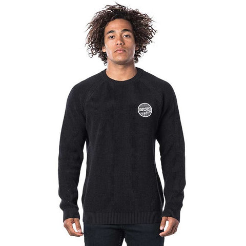 Rip Curl - Patched Sweater - Black