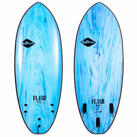 Softech 5'7 Flash Eric Geiselman Performance Softboard (Aqua)