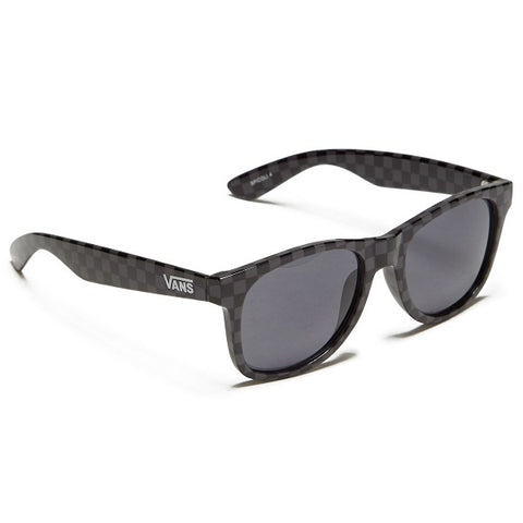 Vans Spicoli 4 Shades Sunglasses - Black-Charcoal Checkerboard