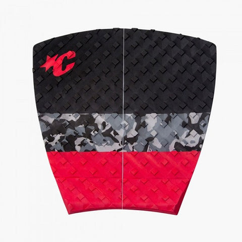 Creatures Tail Pad - Split - Red Black