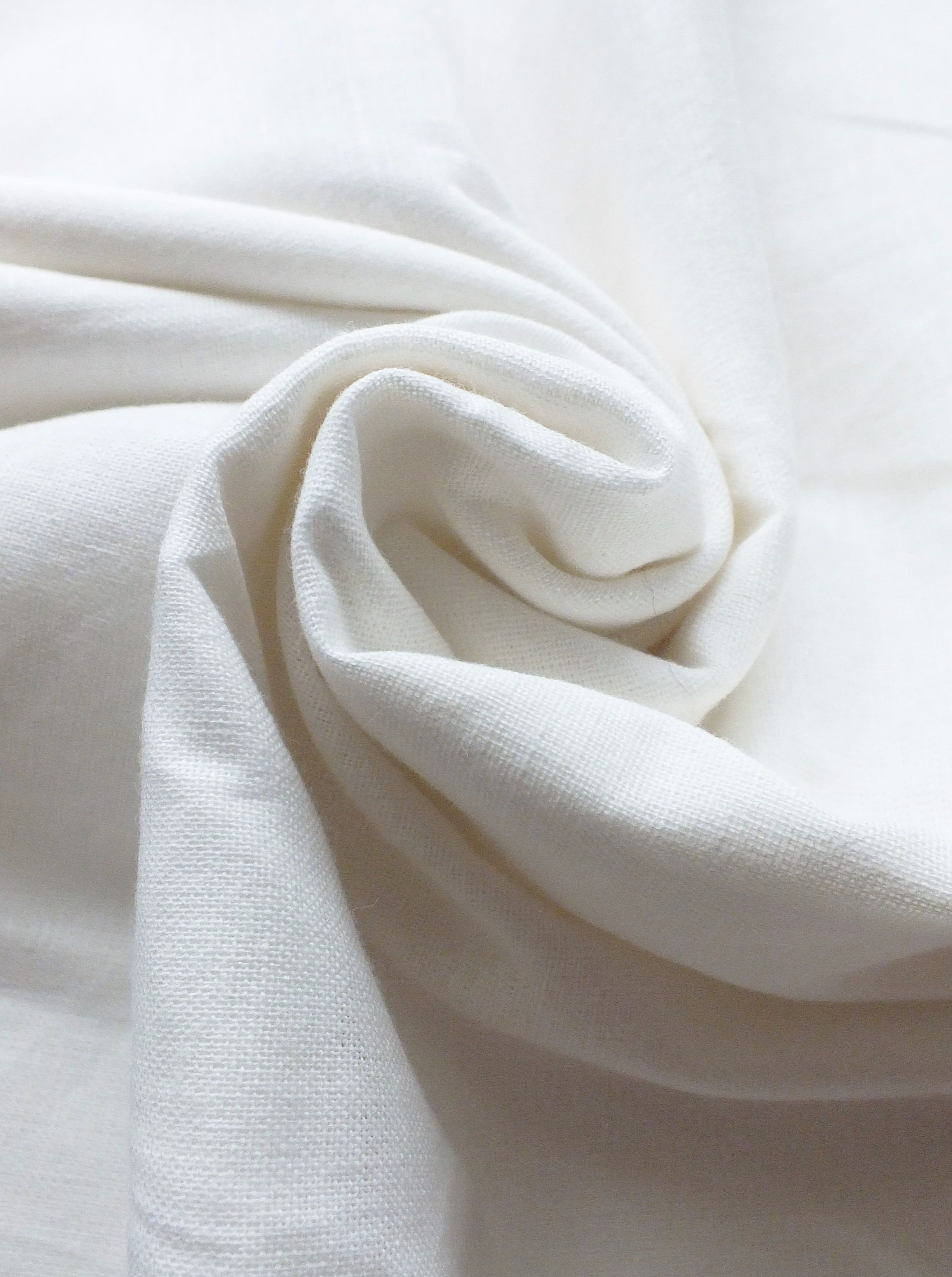 Recycled Cotton Fabric · Natural
