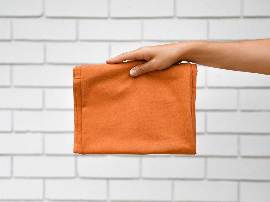 Recycled Cotton · Pomo Orange
