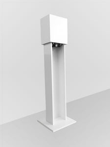 Hand Sanitizer Station White Finish