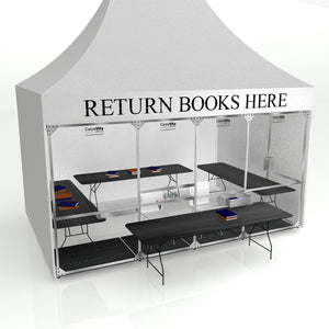 Library Circulation Tent