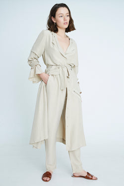 TRENCH COAT DIAMOND NATURAL