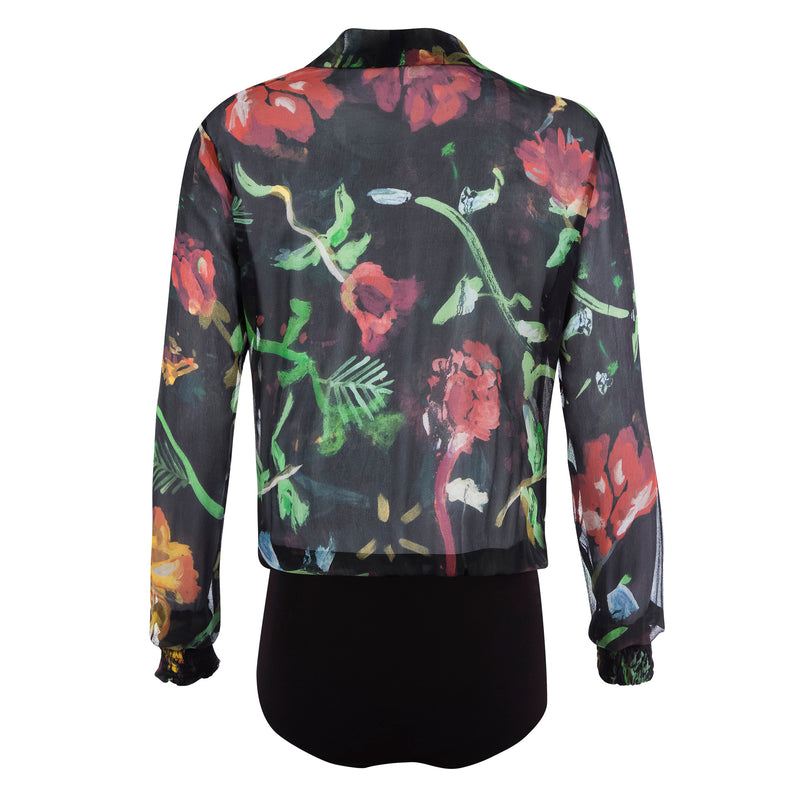 BODY M/L SEDA DARK FLORAL