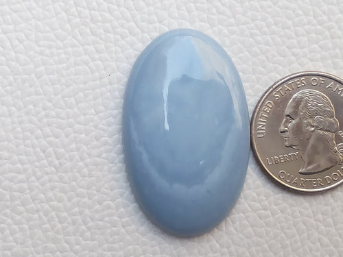 40x25x7 mm Blue Opal Oval Shape