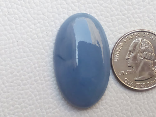37x22x7 mm Blue Opal Oval Shape