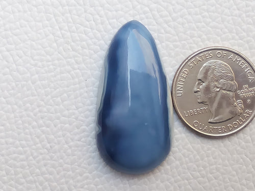 40x21x8 mm Blue Opal Teardrop Shape