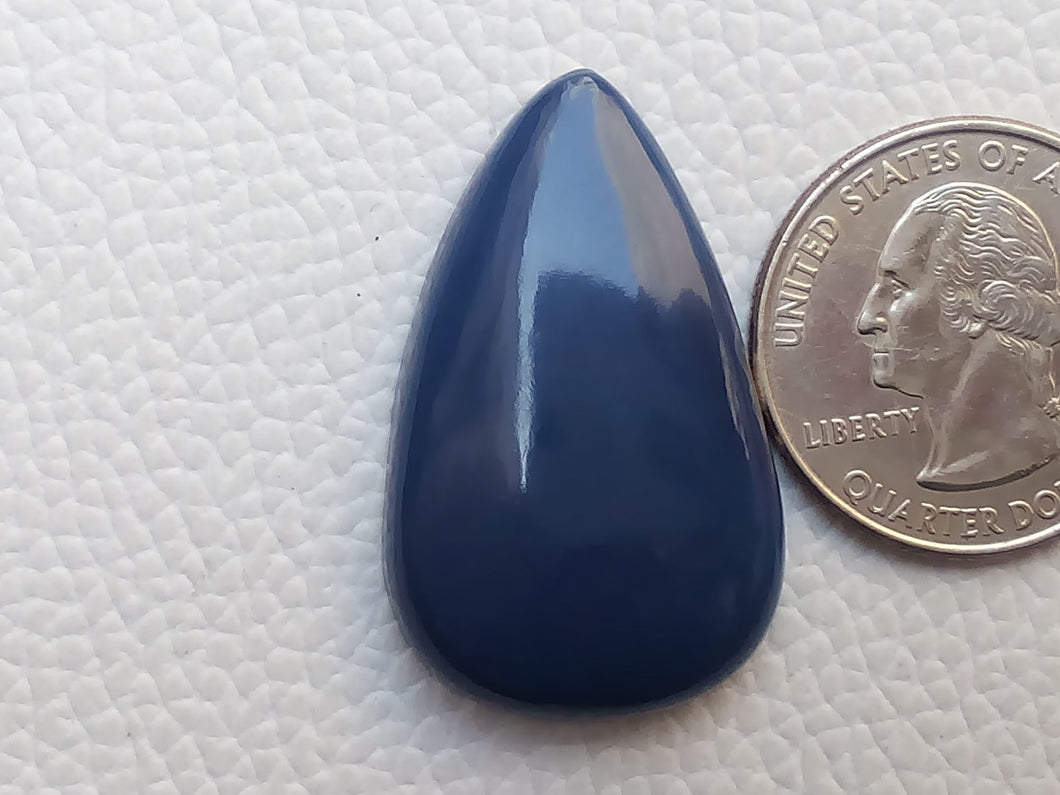 35x22x7 mm Blue Opal Teardrop Shape