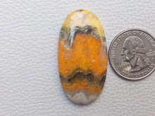 Load image into Gallery viewer, 43x23x6 mm Natural Bumblebee Jasper Oval Shape