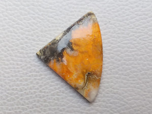 38x28x6 mm Natural Bumble Bee Jasper Freeform Shape