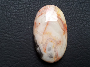 36~22~7mm Rosty Jasper Oval Shape