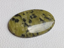 Load image into Gallery viewer, 45~27~6mm Green Jasper Oval Shape