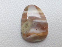 Load image into Gallery viewer, 30~22~5mm Montana Agate freeform Shape
