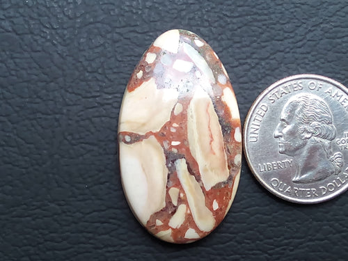 39x23x5 mm Natural Gemstone Jasper Teardrop Shape
