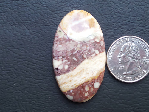 47x27x6 mm Natural Gemstone Jasper Oval Shape